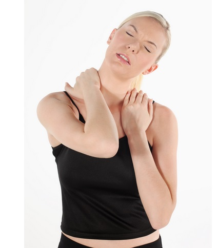 How To Massage A Stiff Neck Yourself