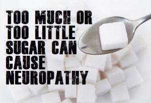 Can Sugar Cause Neuropathy
