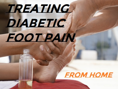 How To Treat Diabetic Foot Pain From Home