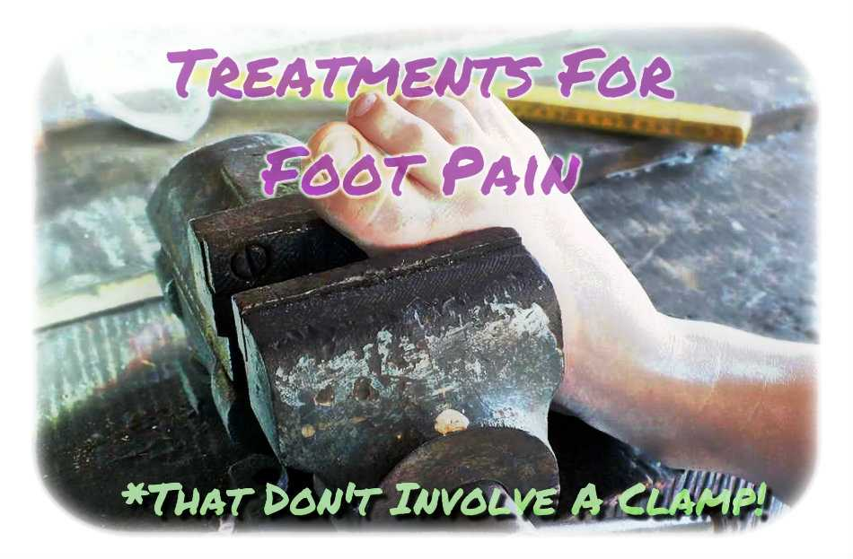 Best Treatments For Foot Pain